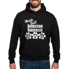 Worlds Best Rhodesian Ridgeback Dad Hoodie