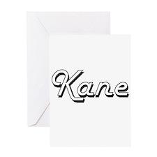 Kane surname classic design Greeting Cards