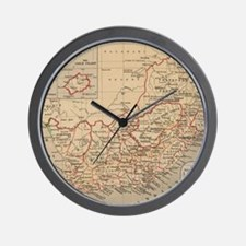 Vintage Map of South Africa (1880) Wall Clock