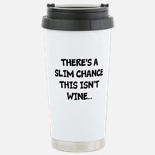 Slim chance this isnt wine... Travel Mug