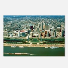 St. Louis Arch and Skylin Postcards (Package of 8)