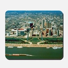 St. Louis Arch and Skyline Mousepad