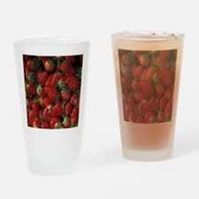 Bushel of Strawberries  Drinking Glass