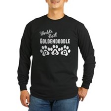 Worlds Best Goldendoodle Dad Long Sleeve T-Shirt