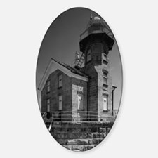 Stratford Shoal Lighthouse Sticker (Oval)