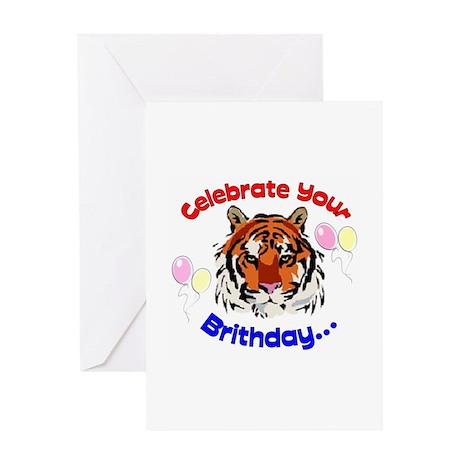 Tiger Band Greeting Card