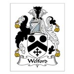Welford Family Crest Small Poster