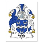 Weld Family Crest Small Poster