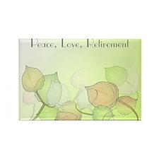 Cute Retirement Rectangle Magnet (10 pack)