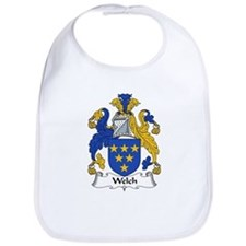 Welch Family Crest Bib