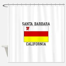 Santa Barbara, California Shower Curtain