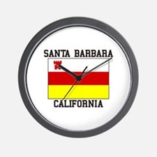 Santa Barbara, California Wall Clock