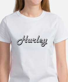Hurley surname classic design T-Shirt
