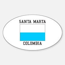 Santa Marta, Colombia Decal