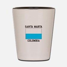 Santa Marta, Colombia Shot Glass