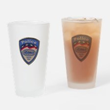 Hoover Dam Police Drinking Glass
