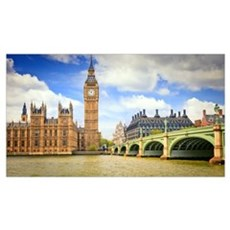 London Bridge And Big Ben Poster