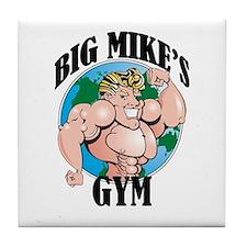 Big Mike's Gym Tile Coaster