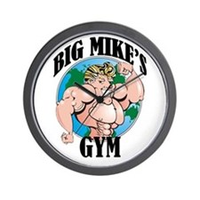 Big Mike's Gym Wall Clock