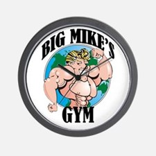 Big Mike's Gym Wall Clock