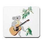 Koala Playing Guitar Mousepad