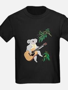 Koala Playing Guitar T-Shirt