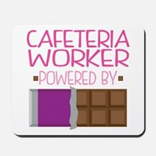 Cafeteria Worker Mousepad