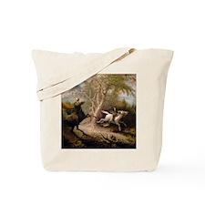 Vintage Art of Sleepy Hollow  Tote Bag