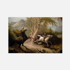 Vintage Art of Sleepy Hollow  Rectangle Magnet