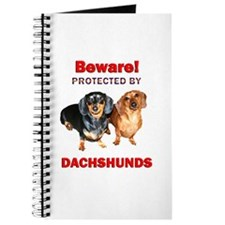 Beware Dachshunds Dogs Journal