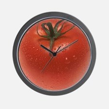 Fresh Tomato Wall Clock