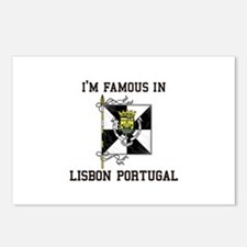 I'm Famaous in Lisbon Portugal Postcards (Package