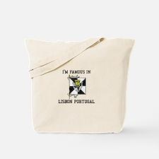I'm Famaous in Lisbon Portugal Tote Bag