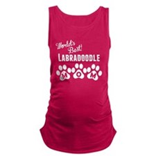 Worlds Best Labradoodle Mom Maternity Tank Top