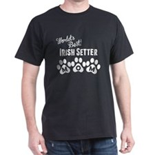 Worlds Best Irish Setter Mom T-Shirt