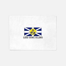 Lord Howe Island 5'x7'Area Rug