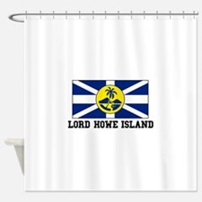 Lord Howe Island Shower Curtain