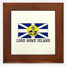 Lord Howe Island Framed Tile
