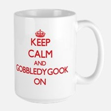 Keep Calm and Gobbledygook ON Mugs