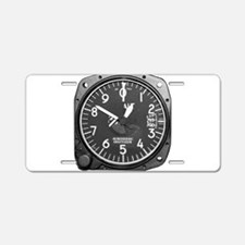 Altimeter Aluminum License Plate