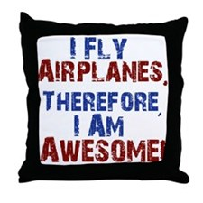 airplanes Throw Pillow