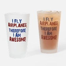 airplanes Drinking Glass