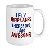 Airplane Large Mugs (15 oz)