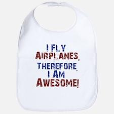 airplanes Bib