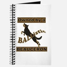 Ballistic Beauceron Portrait Journal