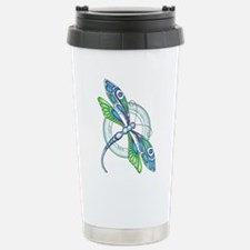 Decorative Dragonfly Travel Mug