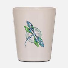 Decorative Dragonfly Shot Glass