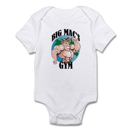 Big Mac's Gym Infant Bodysuit