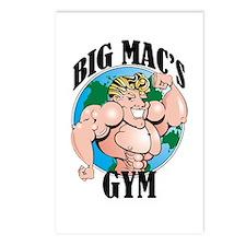 Big Mac's Gym Postcards (Package of 8)