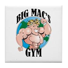 Big Mac's Gym Tile Coaster